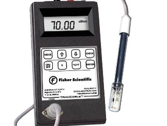 Fisher ScientificTM TraceableTM 便携式导电率计
